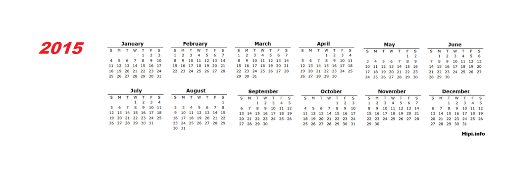 1500x500 calendar