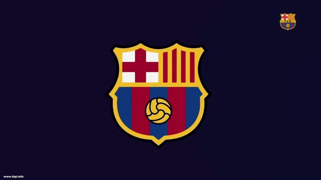 FC Barcelona New Logo - Wallpaper Free - Free Download
