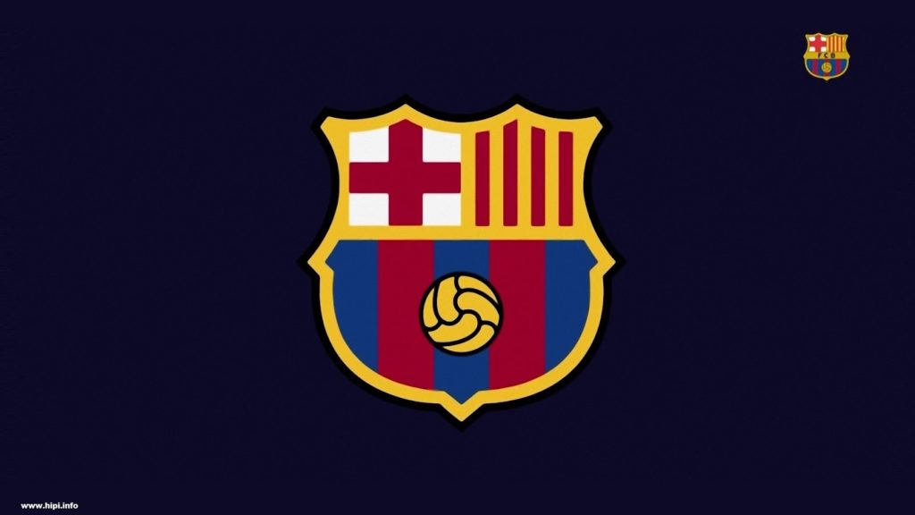 FC Barcelona New Logo - Wallpaper Free - Free Download