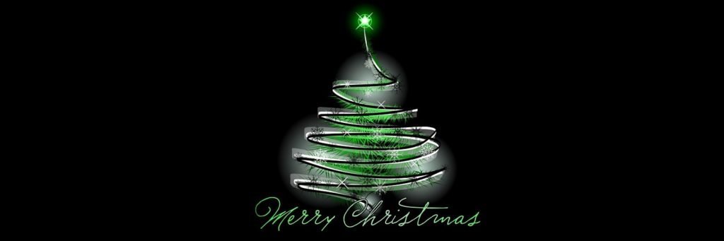 3 Merry Christmas Tree Twitter Header 1500x500