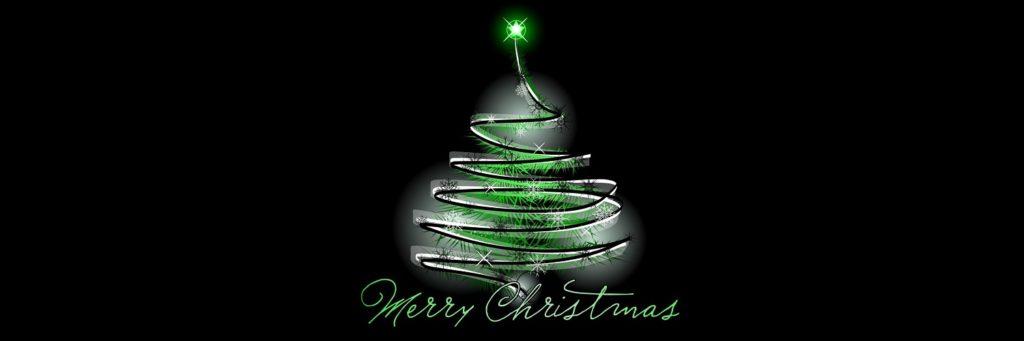 3 Merry Christmas Tree Twitter Header 1500x500