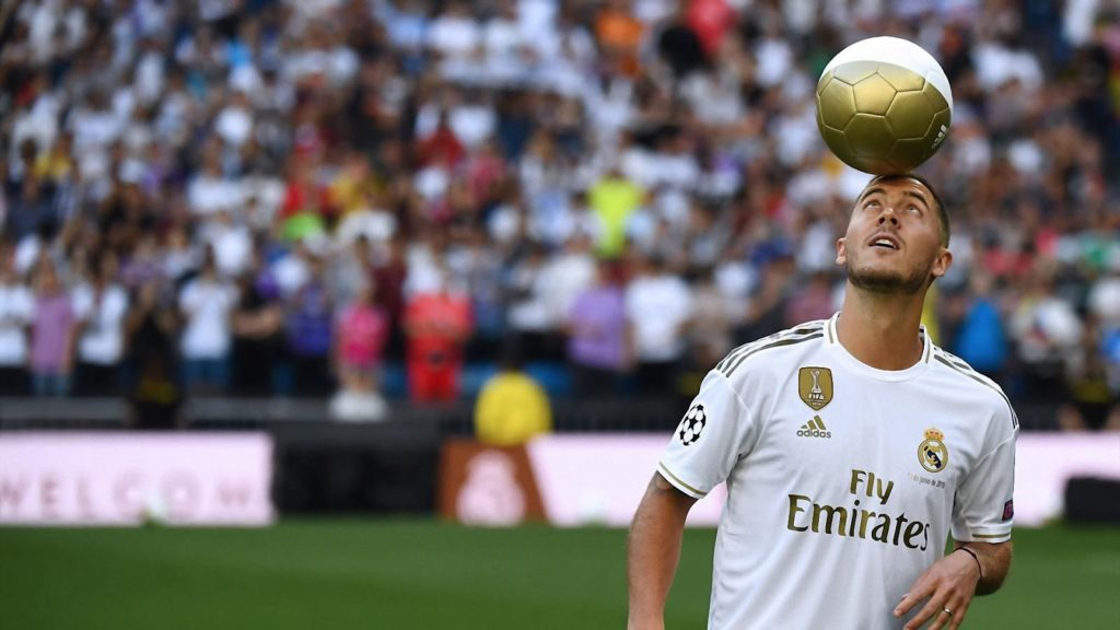 Eden Hazard Real Madrid HD Wallpaper - Free Download
