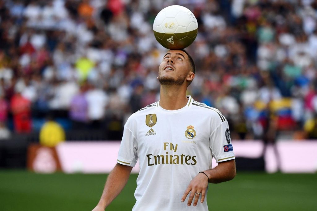 Eden Hazard Real Madrid HD Wallpaper - Free Download