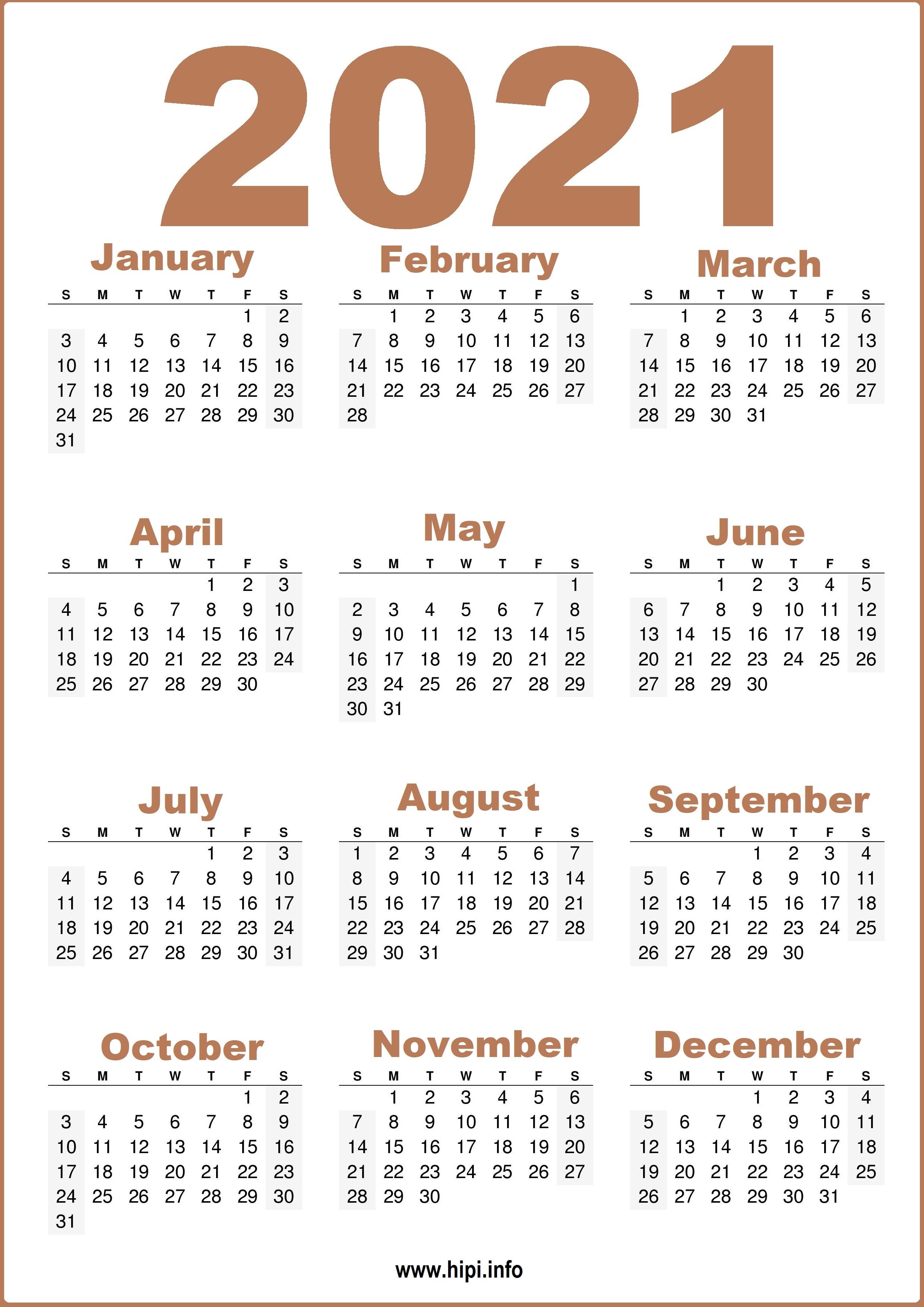 2021 Calendar Hd Images | Calendar 2021