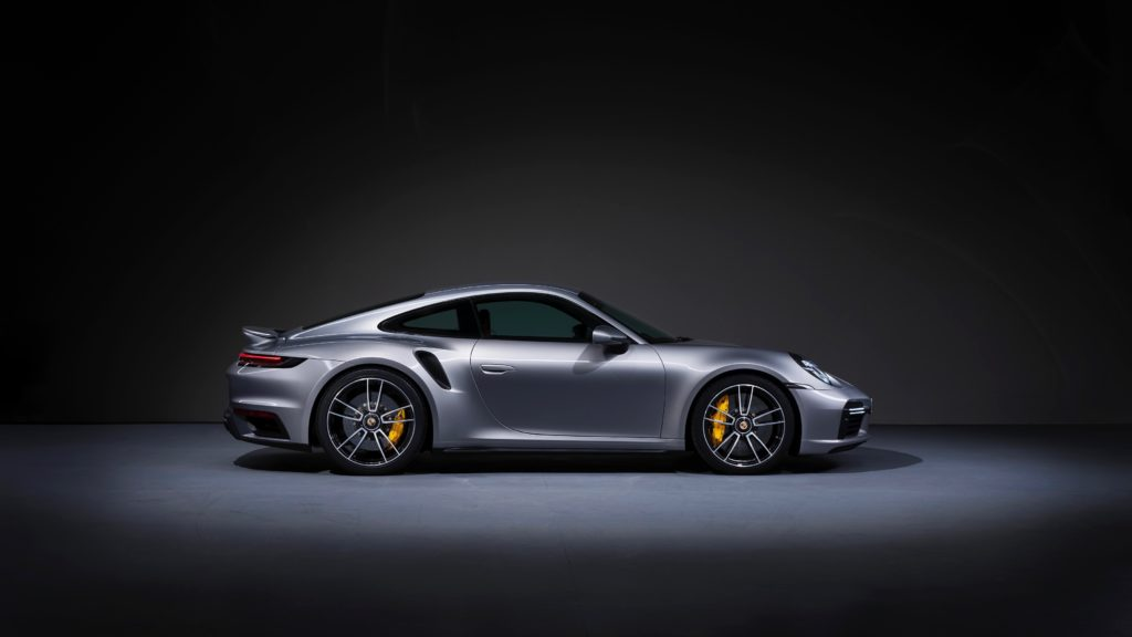 Porsche 911 Turbo S Coupé 2021 Wallpaper