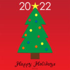 Holiday Card 2022, Free Printable – Christmas Tree